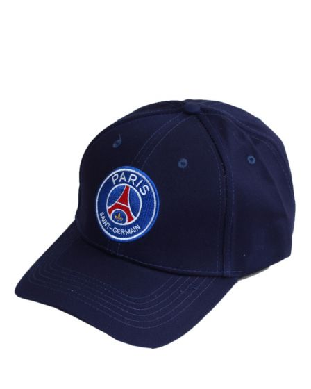 Paris Saint Germain Unisex baseball Adjustable Navy Blue  Cap