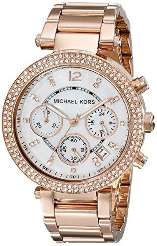 Michael Kors MK5491 39mm Gold Plated Stainless Steel Womens Watch