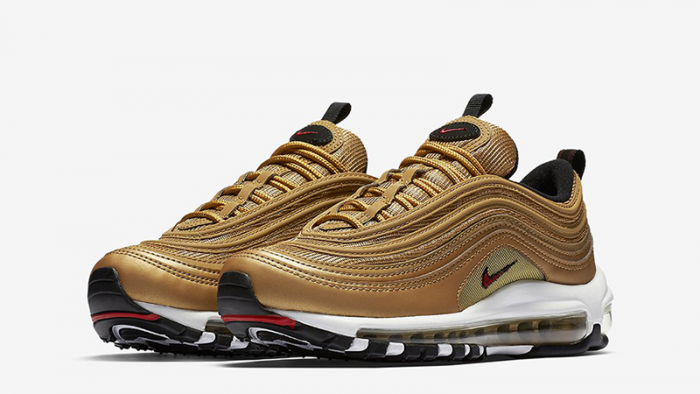 Obeezi Air Max 97 OG Gold Sneakers