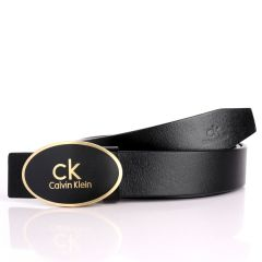 Calvin Klein Signature Designed Genuine Leather Men's Belt