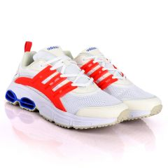 AD Ortholite Quadcube ZX Flux White Sneakers With Classic Designs