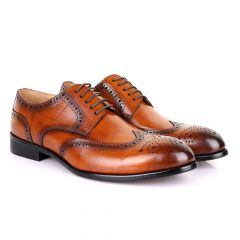 Terry Taylors Oxford Brown Leather Shoe