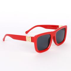 Louis Vuitton Classic Spring Square Unisex Red Sunglasses