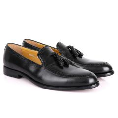 J.M Weston Touble Tassel Semi Patterned Men's Shoes