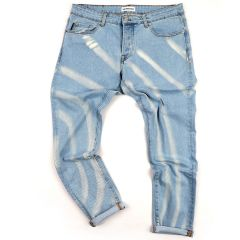 Men's Authentic Standard Denim Jeans- Blue