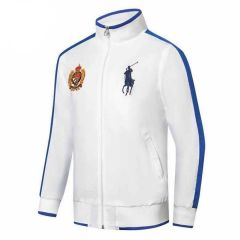 Prl Est Mcmlxv11 Badge And Logo Design White Jacket Tracksuit
