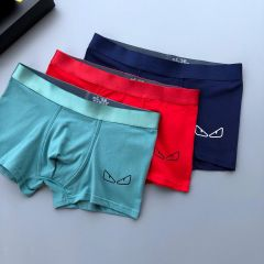 Fend Classic 3 In 1 Comfortable Body-Suited Green,Red And Blue Men's Boxers