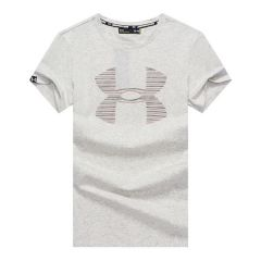 UA Branded Cotton Fit T-shirt- Off White