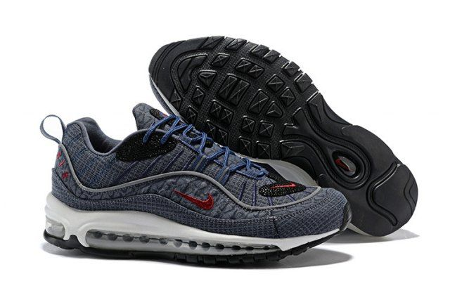 N A M 98 Thunder Blue  Men's Running Shoes Sneakers