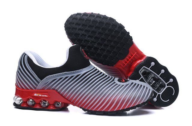N A M 50 Cent Anthracite Mens Running Shoe Grey Red