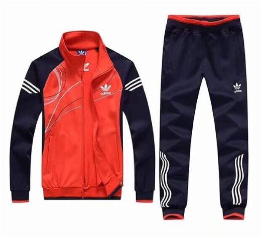 Adidas Men's  Original Tracksuit Vivid Red/Black