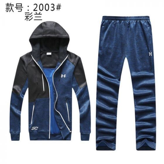 Under Armour Tracksuits Hoodies  Jacket Sports Suits Blue Black