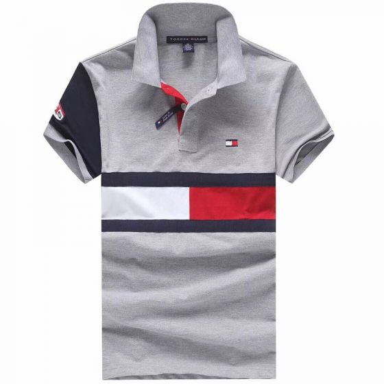 Tommy Hilfiger Ash Short Sleeve Flag Polo Shirt