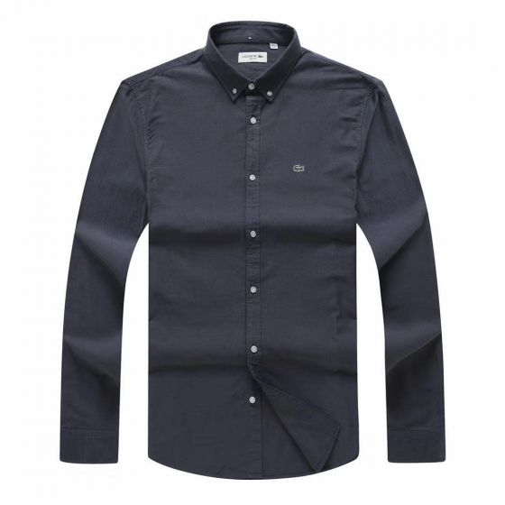 Lacoste Custom Fits Long sleeve Black Shirts