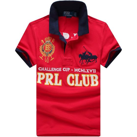 PRL Challenge Cup MCMLXII Red Polo