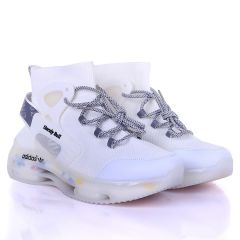 AD Unruly Bull Fashionable Trendy Sneakers- White