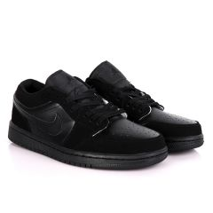Air Jordan 1 Low All Black Sneakers