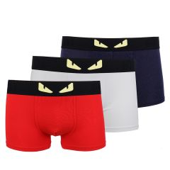 Fendi Roma 3 In 1 Comfortable Body-Suited Men's Boxers