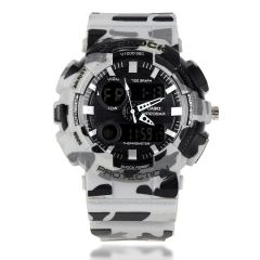 G Shock Watch With Digital And Analog Display
