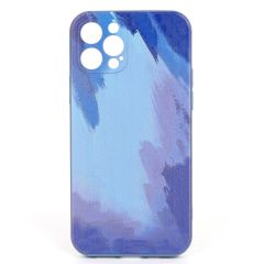 Surf Abstract Wave Canvas Paint Designed iPhone Case-Purple