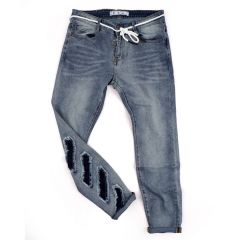 O.W Straight High Quality Jeans -Blue