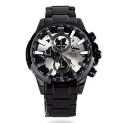 Casio Edifice Black Chronograph Men Watch
