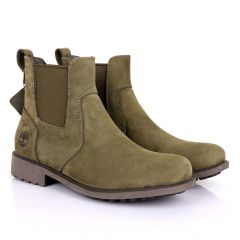 Timberland Mens Chelsea Green Boots