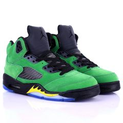 Jord Black With Green Classic Retro Basketball sneakers