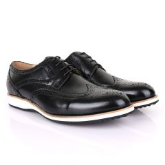 Terry Taylors Classic Oxford Black Leather shoe