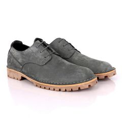 Ralphomme Caterpillar Rugged Grey Men's Lace Up Shoe
