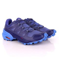 Salomon Speedcross 5 Gtx Trail Blue Running Sneakers