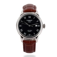 Tissot Lelode Powermatic 80 Automatic Brown Leather Watch