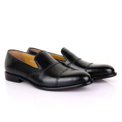 Terry Taylors Treading Black Leather Shoe