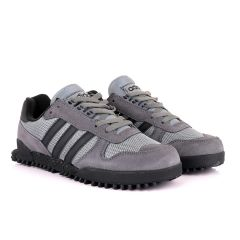 Ad Simplified Fabric Grey Sneakers