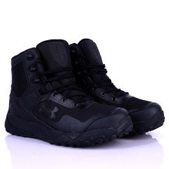 UA Lace Up Solid Tactical Black Boot