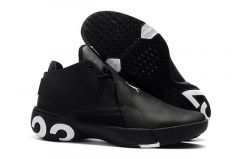 Elegant Shape Air Jordan Ultra Fly 3 Black White Sneaker