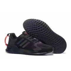 Ad Brand 3 Stripes Black Sneakers
