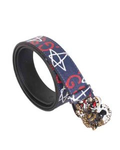 Gucci Belts With Genuine Fashion Prints Tiger Buckle Multicolour