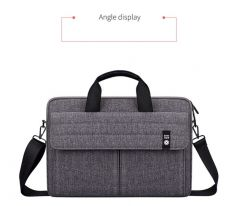 Easy Style Portable Business Laptop Bag-Grey