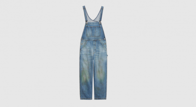 "Gucci is selling denim dungarees with a grass ""stain effect"" for £850"