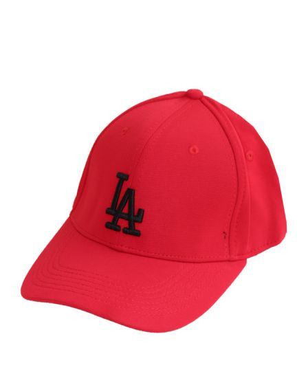 Los Angeles Baseball Dodgers Red Black Write Cap