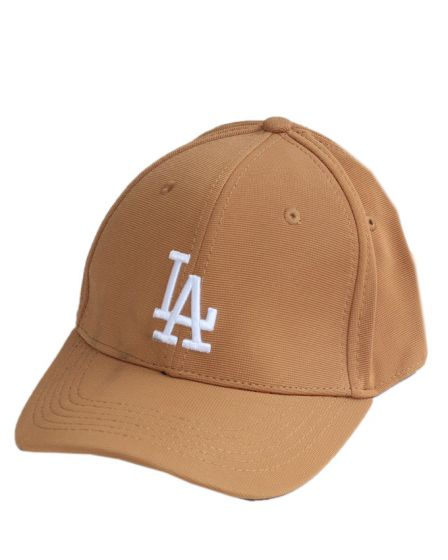 Los Angeles Baseball Dodgers Brown White Write Cap