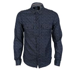 Bajieli Executive Royal Blue LongSleeve Shirt