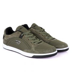 Diesel Classic foot Men's Flat Shade of Green sneakers