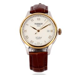 Tissot Lelode Swiss Made Brown Leather Watch