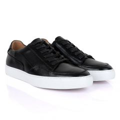 Terry Taylors  Men's Corporate Low Sneaker-Black
