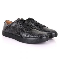 Terry Taylors Exotic Oxford Grey Leather Shoe