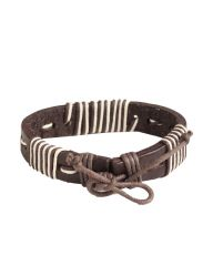 Antique Genuine Leather Bracelets Men'S Bracelets Bangles Jewelry