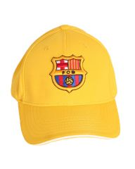 Fc Barcelona Logo Adjustable Cap Yellow