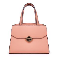 Avalynn Satchel Women Fashion Leather Bag - Pink